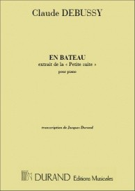 Debussy: En Bateau for Piano published by Durand