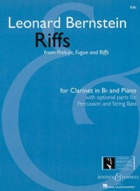 Bernstein: Riffs from Prelude, Fugue and Riffs for Clarinet published by Boosey & Hawkes