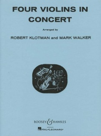 Four Violins in Concert published by Boosey and Hawkes