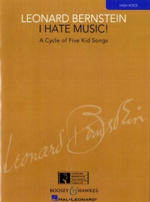 Bernstein: I Hate Music! for High Voice published by Boosey & Hawkes