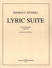 Dunhill: Lyric Suite Opus 96 for Bassoon published by Boosey & Hawkes