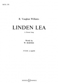 Linden Lea TTBB by Vaughan-Williams published by Boosey and Hawkes