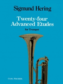 Hering: 24 Advanced Etudes for Trumpet published by Carl Fischer