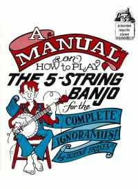 A Manual On How To Play The 5-String Banjo Book & CD published by Fischer