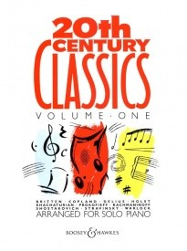 20th Century Classics Volume 1 for Solo Piano published by Boosey and Hawkes