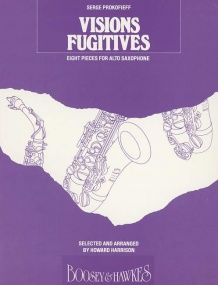 Prokofiev: Visions Fugitives Opus 22 for Saxophone published by Boosey & Hawkes