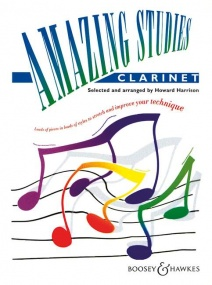 Amazing Studies for Clarinet published by Boosey and Hawkes