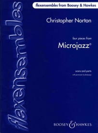 Four Pieces from Microjazz for Flexible Ensemble published by Boosey & Hawkes
