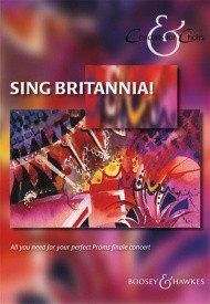 Concerts for Choirs - Sing Britannia SATB published by Boosey and Hawkes