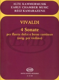 Vivaldi: Four Sonatas for Flute published by EMB