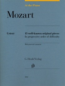 At The Piano - Mozart published by Henle