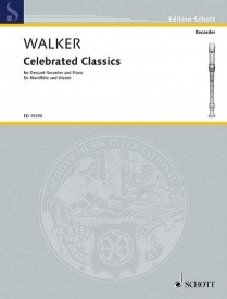 Celebrated Classics for Descant Recorder published by Schott and Co