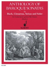 Anthology of Baroque Sonatas for Guitar published by Schott