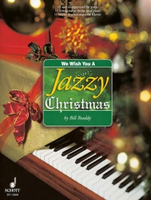 We Wish You A Jazzy Christmas for Piano published by Schott