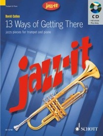 13 Ways of Getting There for Trumpet Book & CD published by Schott