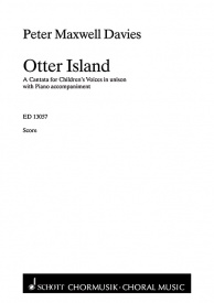 Maxwell Davies: Otter Island published by Schott