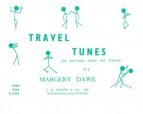 Dawe: Travel Tunes for Cello published by Cramer