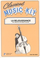 Classical Music Kit - Rejouissance from Royal Fireworks for Flexible Ensemble published by Middle Eight
