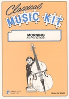 Classical Music Kit - Morning from Peer Gynt Suite for Flexible Ensemble published by Middle Eight