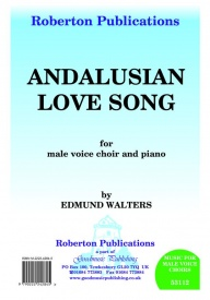 Andalusian Love Song TTBB by Walters published by Roberton