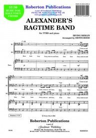 Alexander's Ragtime Band TTBB by Berlin published by Roberton