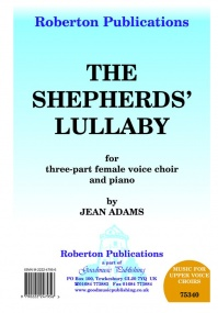 Adams: Shepherds' Lullaby SSA published by Roberton