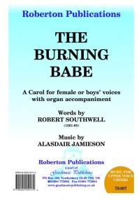 Jamieson: Burning Babe 2pt published by Roberton
