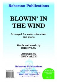 Blowin' In The Wind TTBB by Dylan published by Roberton