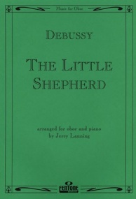 Debussy: The Little Shepherd for Oboe published by Fentone