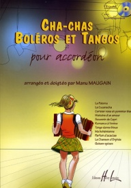Cha-chas, Tangos & Boleros for Accordion Book & CD published by Lemoine