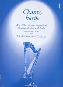Chante harpe Volume 1 for Harp published by Lemoine