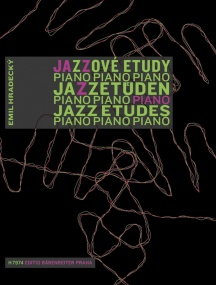 Hradecký: Jazz Etudes for the Young Pianist published by Barenreiter