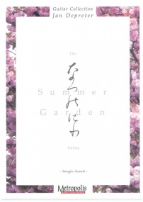 Assad: The Summer Garden Solos for Guitar published by Metropolis