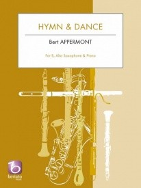 Appermont: Hymn & Dance for Alto Saxophone published by Beriato