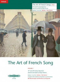 Art of French Song Volume 1 Medium Low published by Peters Edition