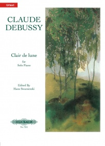 Debussy: Clair de lune for Piano published by Peters