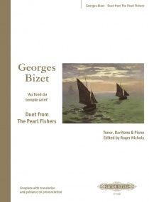 Au fond du temple saint (The Pearl Fishers Duet) by Bizet published by Peters