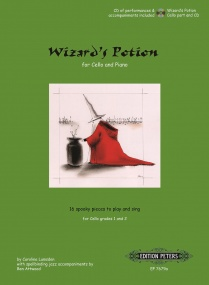 Lumsden: Wizard's Potion Book & CD for Cello published by Peters