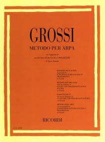 Grossi: Method for Harp published by Ricordi