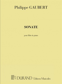 Gaubert: Sonate for Flute & Piano published by Durand