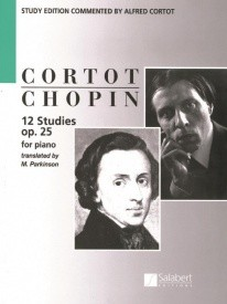 Chopin: 12 Etudes Opus 25 for Piano published by Salabert