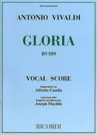 Gloria published by Ricordi - Vocal Score