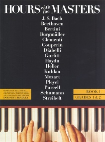 Hours with the Masters Book 1 (Grade 1 & 2) for Piano published by Bosworth