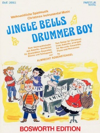 Jingle Bells And Drummer Boy for Recorder Ensemble published by Bosworth