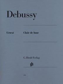 Debussy: Clair de Lune for Piano published by Henle