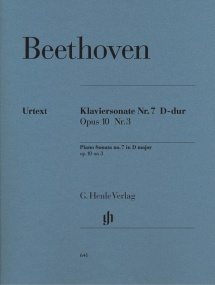 Beethoven: Sonata in D Opus 10 No 3 for Piano published by Henle Urtext