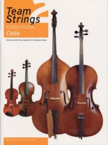 Team Strings 2 Book Only for Cello published by IMP