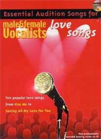 Essential Audition Songs for Male & Female vocalists - Love Songs Book & CD published by IMP