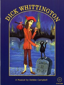 Dick Whittington Book & CD by Campbell published by DC Music