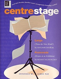 Centre Stage four part flexible chamber music Vol 1 published by Universal Edition